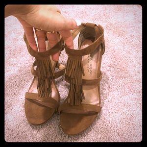 Christian Siriano heels. Never worn. Sz 7.5